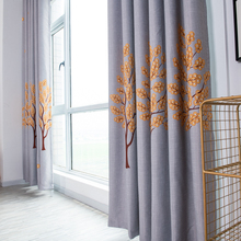 Мягкая удобная оконная занавеска для гостиной, спальни, современные затемненные занавески, многоцветные модные занавески для гостиной, украшения для спальни