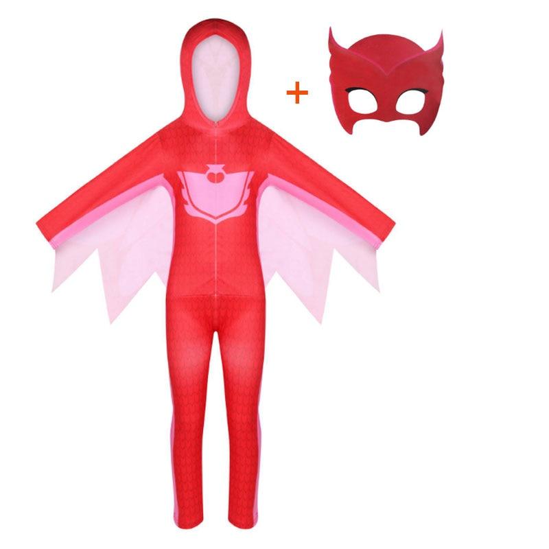 2020 New Halloween children cartoon cat boy costume children hero jumpsuit costume Halloween children costume 4