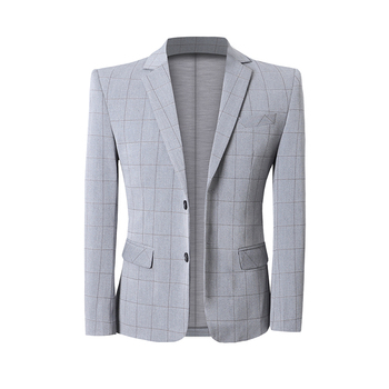 British Style Men Blazer Plus Size Slim Fit Mens Blazer Jacket Casual Business Formal Wear Party/Prom Tuxedo Suit Jacket Men 5XL