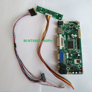 Kit para b156xw02 v.2/v.1 hdmi dvi placa controladora m. nt68676 led lcd 15.6