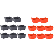 Pegboard-Accessories Organizing Hardware Storage for 8pieces Pegboard-Bins-Kit Pegboard-Parts