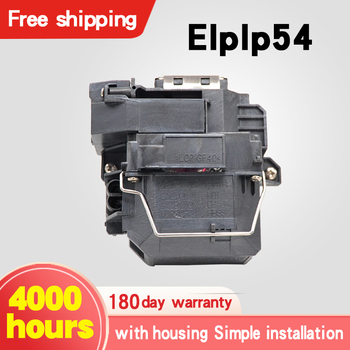 For ELPLP54 EB-S7 EB-S7+ EB-S72 EB-S8 EB-S82 EB-X7 EB-X72 EB-X8 EB-X8E EB-W7 EB-W8 Projector lamp with housing for Eps0n dustproof air filter net sponge for epson projector eb x7 eb s7 eb x8 eb w8 eh tw450 eb c260x eb c260s eb c260w eb c260xs