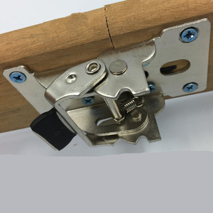 Image 5 - 90 Degrees Folding Cabinet Door Hinges Dining Table Lift Support Connection Cabinet Hinges Furniture Hardware Accessories