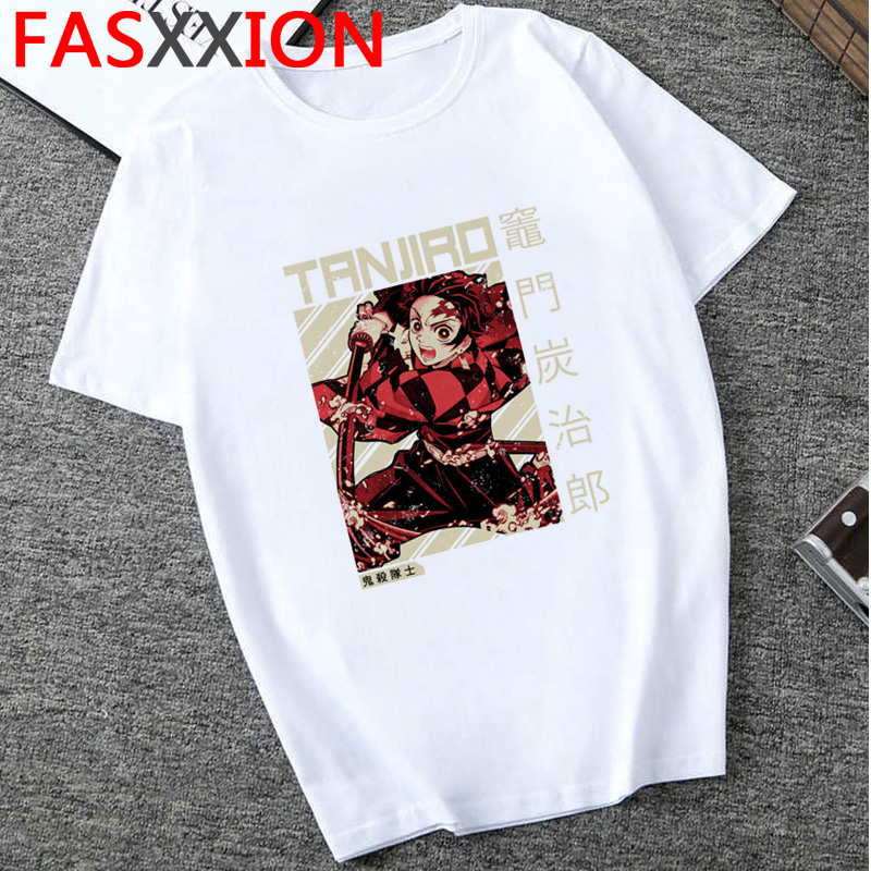 Hd4cd7715d71e4ccaa216adf49a153cd5d - Demon Slayer T-shirt  Graphic Tees Men Streetwear  Japanese Anime Cool Tshirt Funny Cartoon Kimetsu No Yaiba T Shirt Male