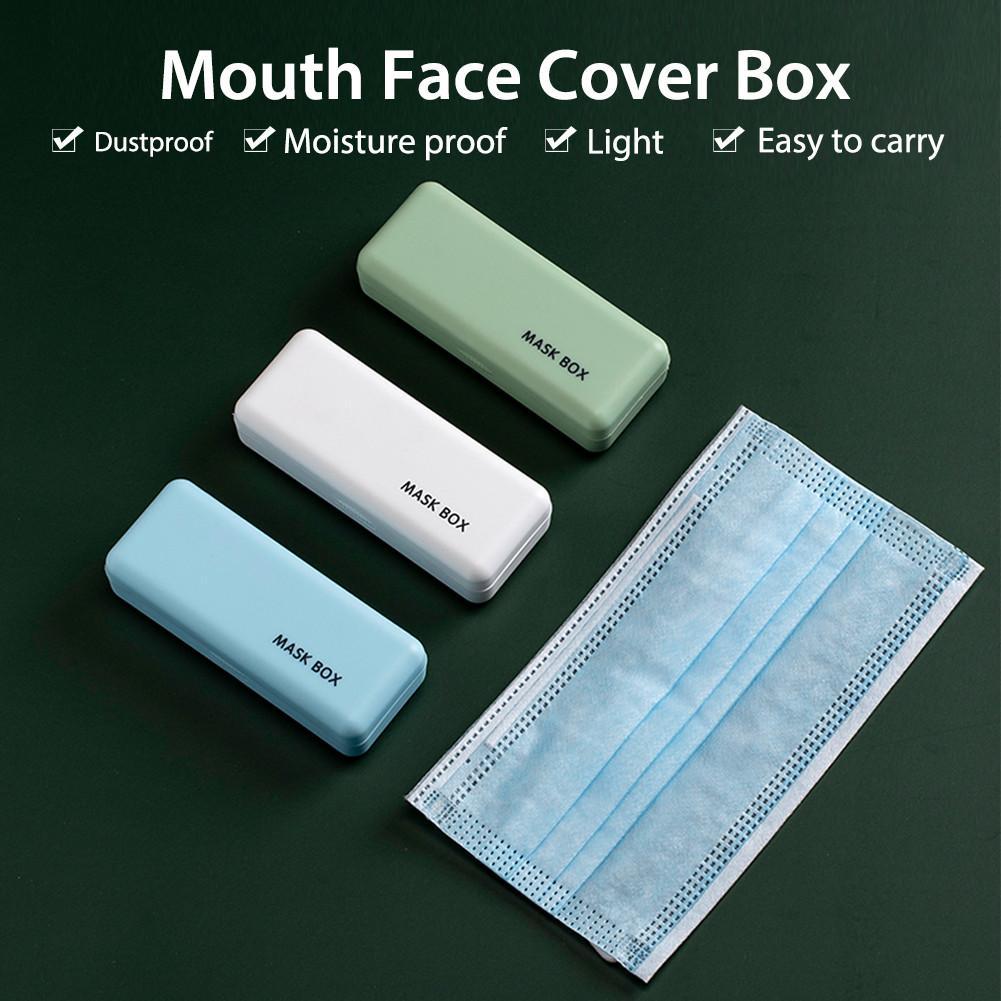 Disposable Mask Storage Box PP Portable Waterproof Hygienic Mask Holder Organizer Environmentally Friendly(China)