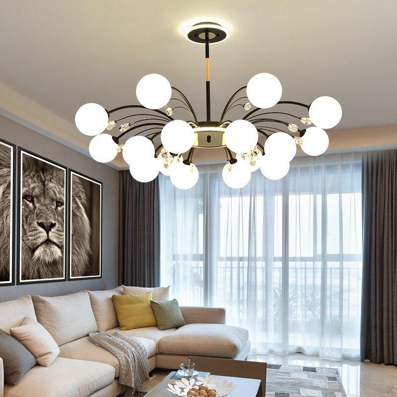 Modern Led Ceiling Chandelier Lighting led Chandelier For Living Room Bedroom kitchen Home crystal chandelier Lighting Lamp