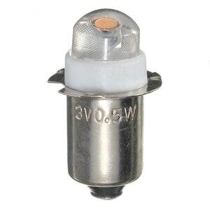 Image 3 - 1pcs P13.5S PR2 0.5W LED For Focus Flashlight Replacement Bulb Torches Work Light Lamp 60 100Lumen DC 3V 4.5V 6V Pure/Warm White