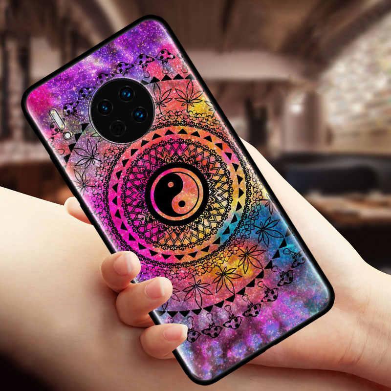 Silikon kılıf kapak Huawei Mate 20 Lite 10 30 Lite 30 Pro Y5 Y6 Y7 Y9s Y9 başbakan 2019 nova 5T coque