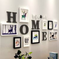 European Style Home Photo Frames Wedding Wall Decoration Picture Frame Set Navigation Painting Living Room