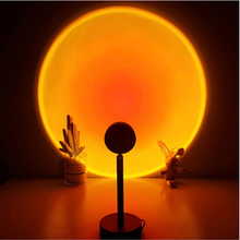 Sunset Lamp Projector Led Night Light Sunset-Red Rainbow Projection Desk Lamp for Bedroom Bar Coffee Store Wall Decoration light