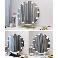 Сенсорный экран с регулируемой яркостью туалетное зеркало подсветкой
