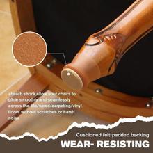 4 sztuk czuł stół i krzesła ochronna pokrywa ulepszona silikonowa noga od krzesła czapki ochraniacze na nóżki antypoślizgowe wyciszenie Case Mat drewno ochraniacz na podłogę tanie tanio CN (pochodzenie) Noga do mebli Chair