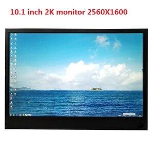 10 inches2K moniteur portable 2HDMI IPS HD écran 2560X1600 PS4 jeu moniteur ordinateur LCD moniteur USB pilote carte PC