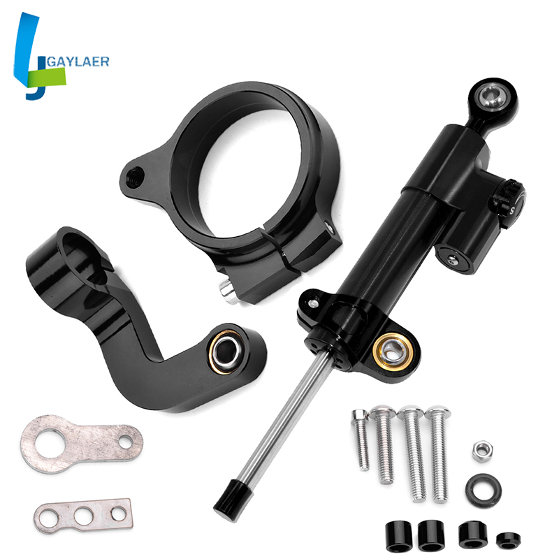 Motorcycle R1200GS LC Steering Stabilize Damper Bracket Mount for BMW R1200GS LC 2013-2017 2016 2015 2014