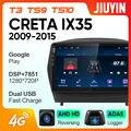 JIUYIN автомобильное радио для Hyundai Tucson 2 LM IX35 2009 - 2015 Android Мультимедиа Видео плеер навигация нет 2din 2 din dvd