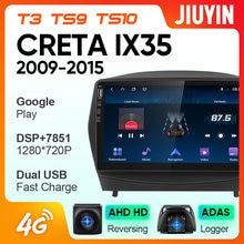 Rádio do carro de jiuyin para hyundai tucson 2 lm ix35 2009 - 2015 android leitor de vídeo multimídia navegação nenhum 2din 2 din dvd