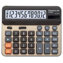 Настольный калькулятор comix с большим экраном двойной мощный