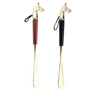 Image 5 - Metal Shoe Horn Handle Long Remover Shoehorn Handheld Durable Shoeshorn 32cm