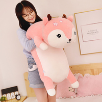 Giant Size Super Soft Cute Deer Plush Toys new style toy Sika deer doll birthday gift