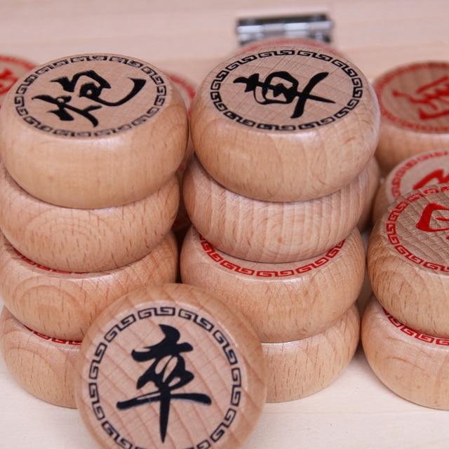 Jeu de xianqi traditionnel (échecs chinois) plateau pliable. 3