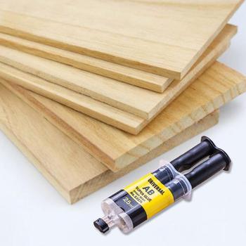 AB klej mocny klej do domu mocny klej klej do naprawy wysoka wytrzymałość bardzo mocne klej utwardzacz Metal plastik klej do naprawy drewna tanie i dobre opinie CN (pochodzenie) Woodworking 1 * Glue