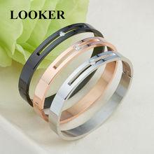 Looker 2021 розовое золото Цвет с украшением в виде кристаллов