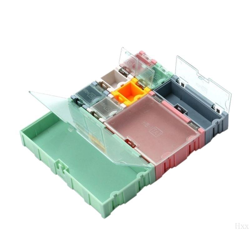 Высокое качество 9 шт./компл. SMD контейнер SMT электронный компонент ИС мини коробка для хранения ювелирных изделий