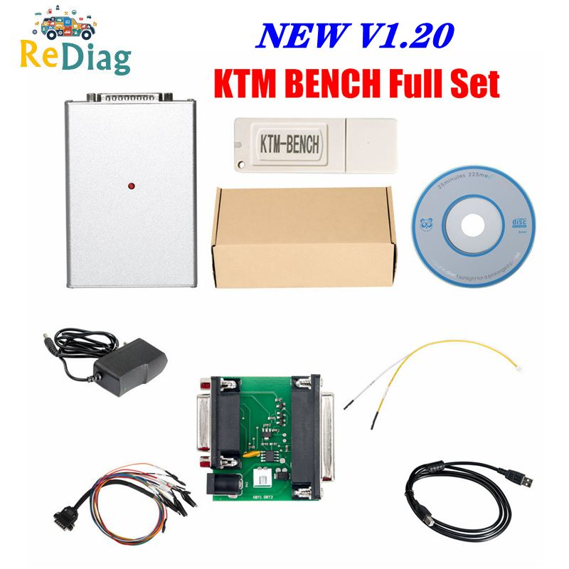 High Quality KTM BENCH ECU Programmer For BOOT And Bench Read And Write Newest Ktmbench V1.20 Free Shipping