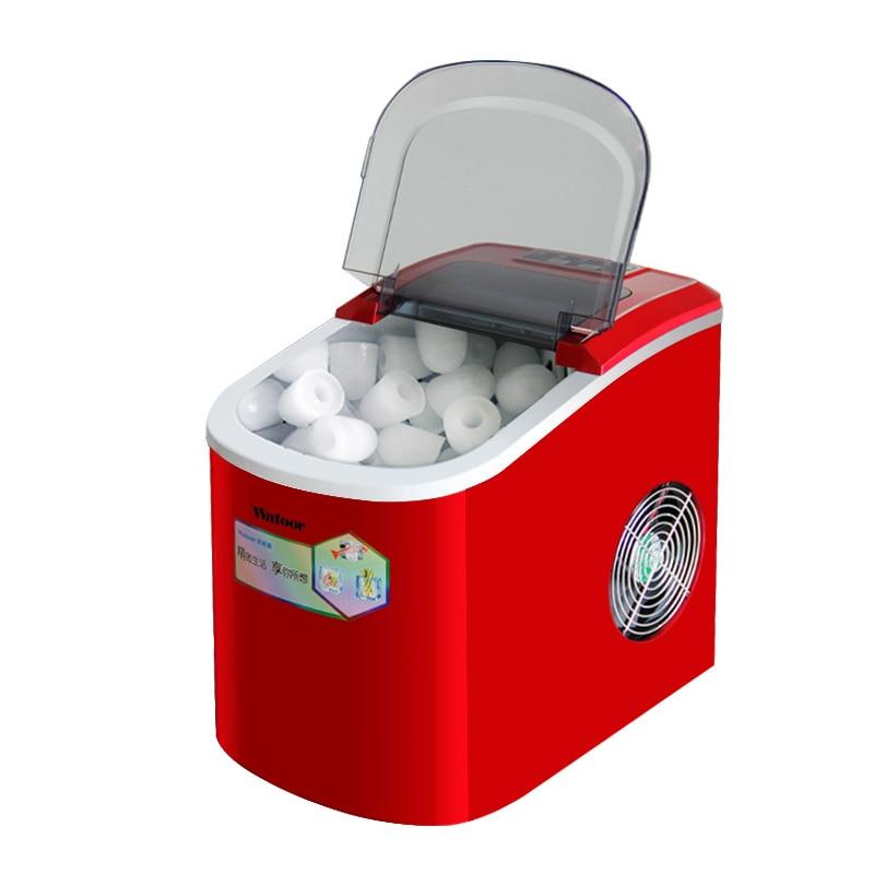 Ice Maker Portable Commercial Bar Cafe Making Ice Cube Machine 2.2L 220V 15 Kg