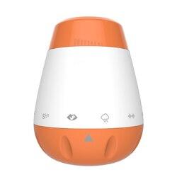 Перезаряжаемый голосовой датчик сон пустышка белый шум ребенок Портативный умная музыка Младенцы терапия звуковая машина