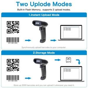 Image 5 - ポータブルバーコードスキャナワイヤレスbluetooth 2D qrバーコードリーダーアンドロイドios ipadモバイル決済HW L28BT