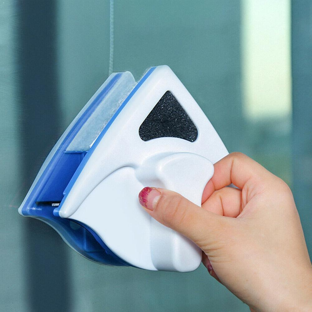 New Magnetic Window Cleaner Brush For Washing Windows Cleaning Home Wash Magnet Wiper Window Household Glass Cleaner Tool G A2Y2