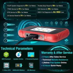 Image 3 - Starten X431 CRP129E Volle OBD2 ENG ABS SRS ZU Diagnose + Öl/Bremse/SAS/TMPS/ETS reset Creader 129E OBDII Code Reader Scanner