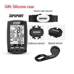 Image 1 - IGPSPORT IGS50E ANT + GPS Bluetooth אלחוטי אופניים סטופר מד מהירות רכיבה על אופניים אופני מחשב תמיכה עמיד למים