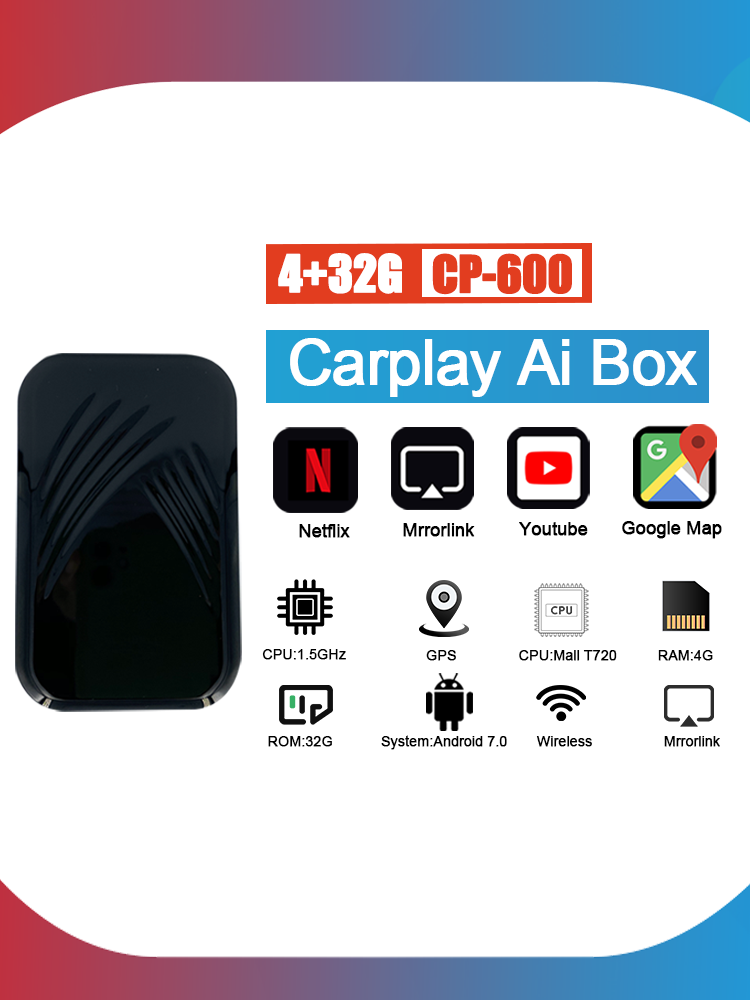 Mirror-Link Multimedia-Player Android-System Auto-Tv-Box Apple Carplay New-Version Wireless
