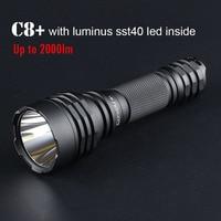 Most Powerful Led Flashlight Convoy C8+ with SST40 LED Lantern 18650 Flash Light 2000lm Torch Lanterna Camping Work Bike Lamp