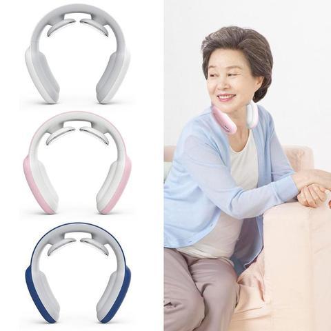 usb controle remoto inteligente para tras e massageador de pescoco ombro massagem instrumento de aquecimento