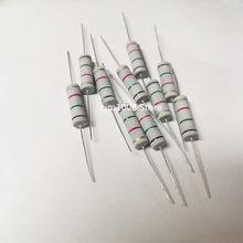 10PCS Resistor de Filme de Carbono 5% W 0.1R 5 0.12R 0.15R 0.18R 0.2R 0.22R 0.24R 0.25R 0.27R 0.3R 0.33R 0.39R 0.43R ohm