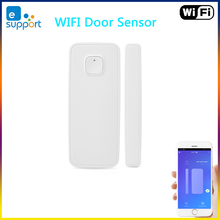 EWelink WiFi czujnik drzwi otwarte/zamknięte detektory połączenie z innymi inteligentny zegarek wi fi w aplikacji