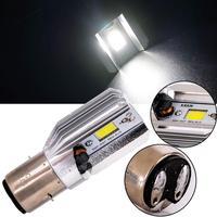 Faro de motocicleta bombilla LED Hi Lo beam Moto LED faro de motocicleta LED lámparas Kit de conversión bombillas|  -