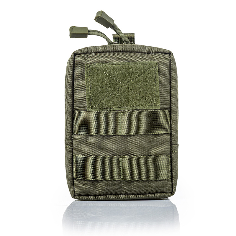 Tactical Waist Pack Multi-functional Outdoor Army Camouflage Commuter Bag Molle Tactical Attached Accessories Pannier Bag Debris