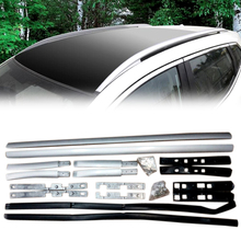 For Nissan Qashqai J11 Car Styling  Accessories 2014 2015 2016 2017 2018 Car Roof Rack Luggage Carrier Side Bars Rails стоимость