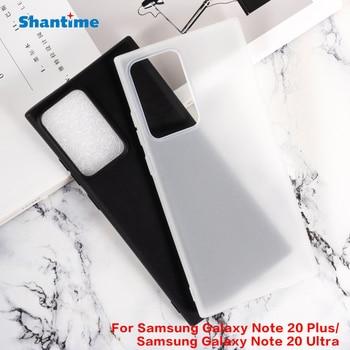 Per Samsung Galaxy Note 20 Più Del Gel Pudding Silicone Del Telefono di Protezione Posteriore Shell Per Samsung Galaxy Note 20 Ultra Morbido caso di TPU