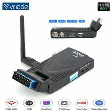 DVB T2 TV Tuner Scart TV Box Digital Terrestrial Receptor WIFI Receiver Youtube Set Top Box H.265 HD 1080P Support Phone Remote