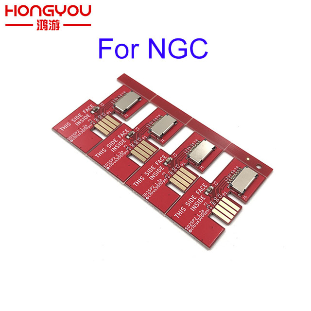 10pcs For NGC Game Cube SD2SP2 SD Load SDL Micro SD Card TF Card Reader