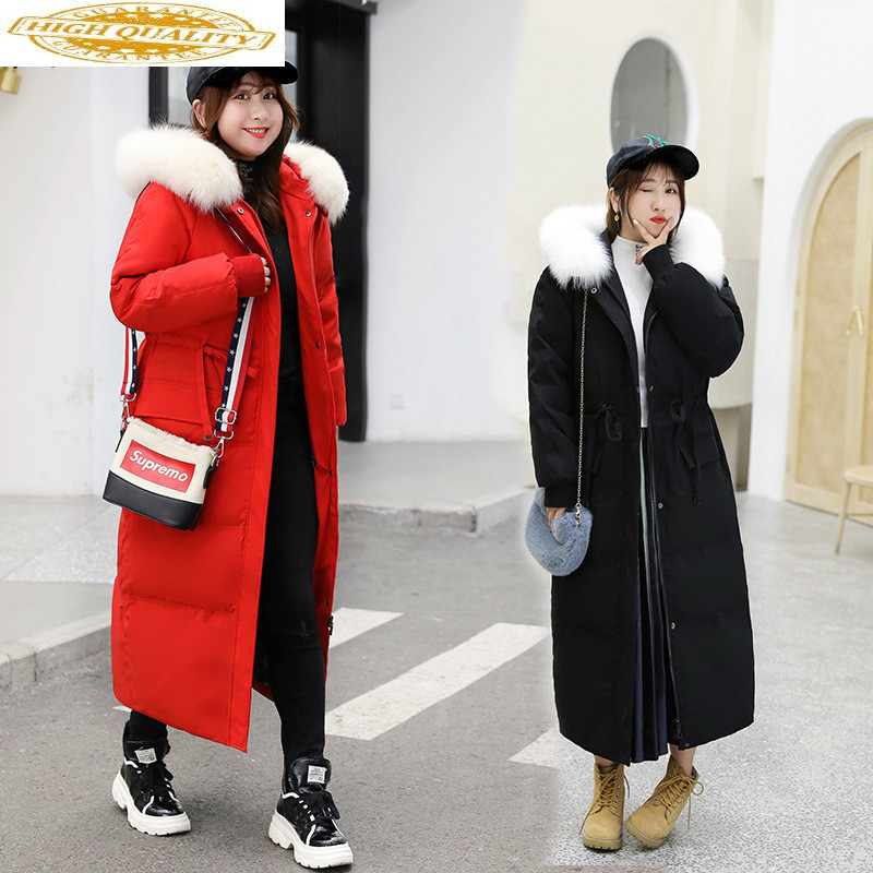 White Duck Down Jacket Plus Size Winter Coat Women Clothes 2020 Down Coat Korean Puffer Jacket Warm Parka 801 YY1971