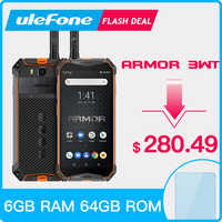 Ulefone Armor 3WT IP68 Smartphone robuste Android 9.0 5.7 Helio P70 6G + 64G 10300mAh téléphone portable 4G 21MP NFC téléphone portable Android
