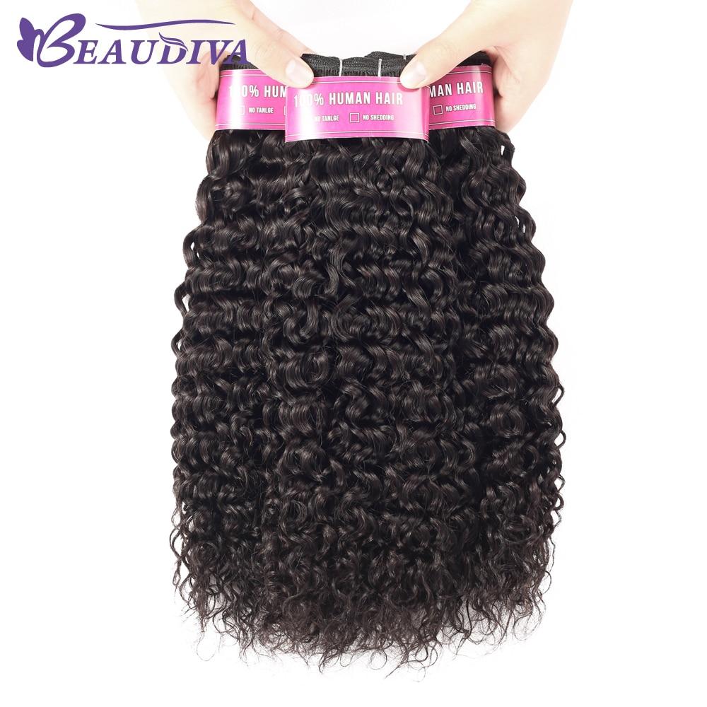 Beaudiva Brazilian Hair Weave Bundles With Closure Water Wave 3 Bundles With Closure Remy Human Hair Bundles With Lace Closure 2