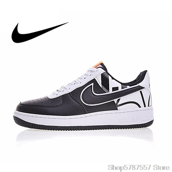 Original Nike Air Force 1 Low To Help Skateboarding Shoes Men's Wear Resistant Classic Non-slip Athletic Outdoor Sneakers 823511 недорого