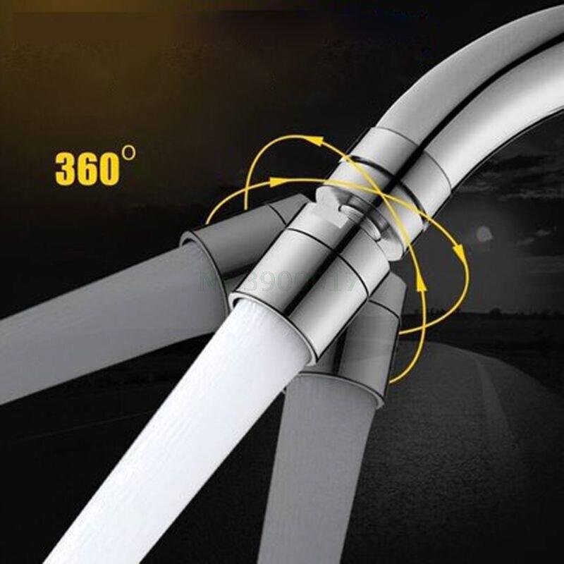 Латунный водосберегающий кран распылитель-аэратор с поворотом 360 градусов
